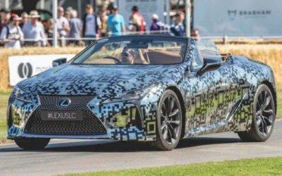 Гудвуд-2019: Lexus показал обновлённый кабриолетLC Convertible