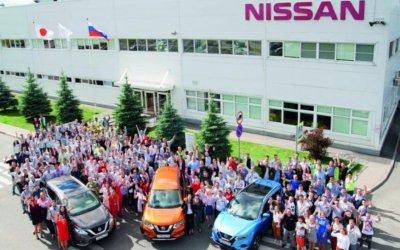 Завод Nissan вСанкт-Петербурге празднует юбилей