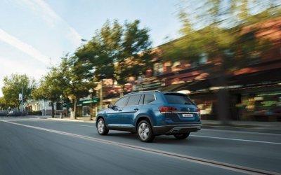 Семейный автомобиль по семейной программе. Volkswagen Teramont