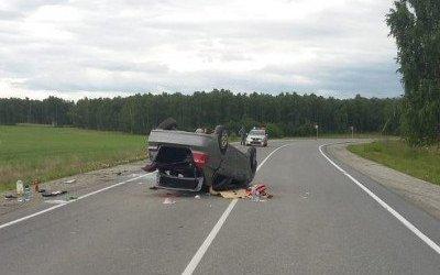 Молодая женщина погибла в ДТП с опрокинувшейся машиной в Челябинской области