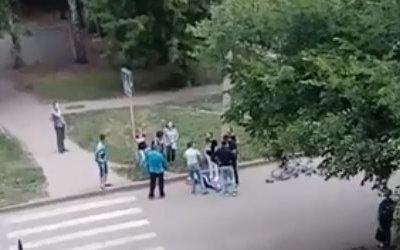 В Ульяновске иномарка сбила 11-летнего велосипедиста