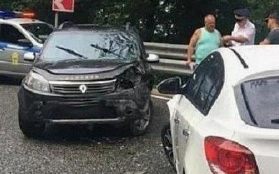 Трое детей пострадали в ДТП в Сочи
