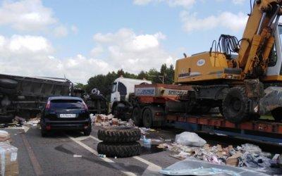 В Мордовии в ДТП с экскаватором погиб человек