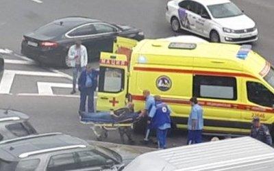 Мотоциклист серьезно пострадал в ДТП в Петербурге
