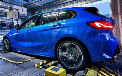 Начато серийное производство BMW 1-Series