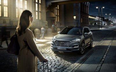 Hyundai TUCSON в АВИЛОН. Везёт тому, кто ведёт!