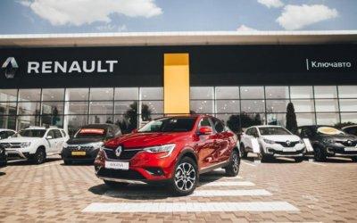 Абсолютно новый Renault ARKANA презентуют в КЛЮЧАВТО