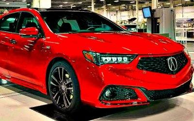 Спортседан Acura TLX получил эксклюзивное исполнение