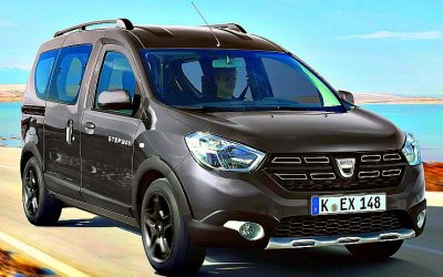 ВРоссию прибыл новый Renault Dokker Stepway