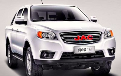 Пикап JAC T6: известны российские цены