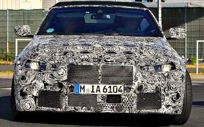 Начато тестирование форсированного кабриолета BMW M4