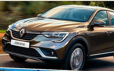 Renault Arkana отправился впробег поРоссии