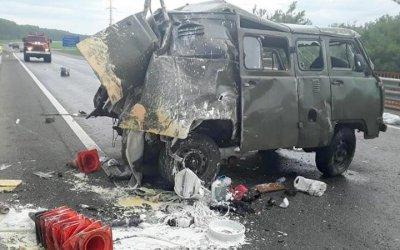 В Башкирии грузовик насмерть сбил четверых рабочих