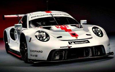 Гудвуд-2019: представлена гоночная версия Porsche 911