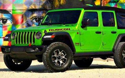 Jeep Wrangler получил новое исполнение