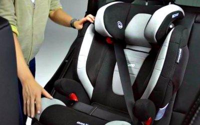 Дети в машине: где им безопаснее всего?