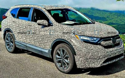 Обновлённый кроссовер Honda CR-V выехал наиспытания