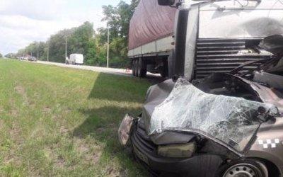 В ДТП под Курском с такси и грузовиком погибли два человека