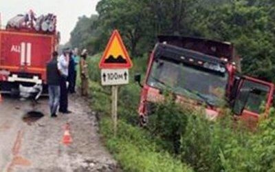 Шесть человек погибли в ДТП с грузовиком в Приморье