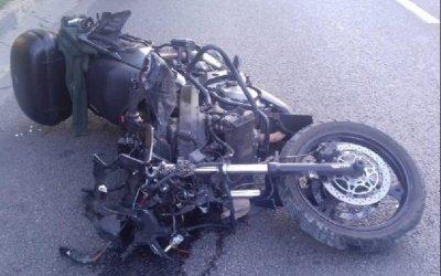 В Воронеже мотоциклист насмерть сбил пешехода