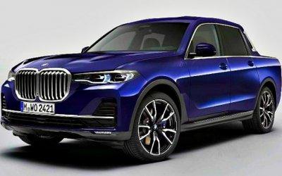 Баварцы представили пикап набазе BMW X7
