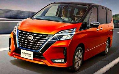 Представлен новый минивэн Nissan Serena