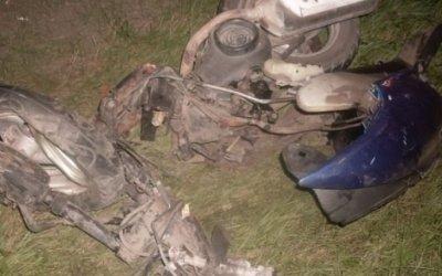 Под Омском УАЗ сбил мопед – погибли два человека