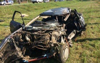 В ДТП с комбайном в Климовском районе погиб водитель Audi