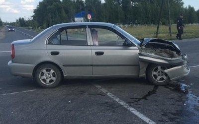 По вине автоледи в ДТП в Ухоловском районе пострадали двое детей