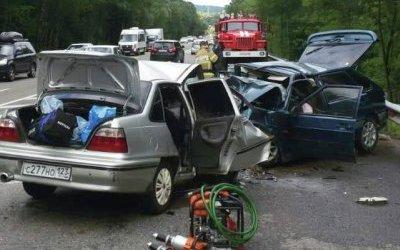 Пять человек погибли в ДТП в Туапсинском районе