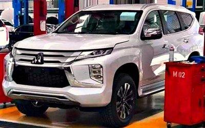 Рассекречен новый Mitsubishi Pajero Sport