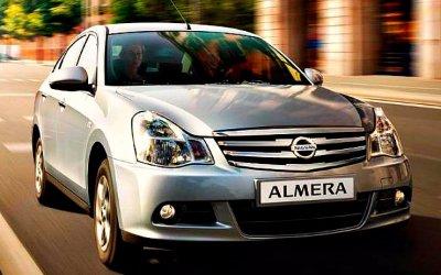 Завершены продажи Nissan Almera