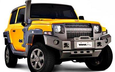 Troller— бразильский Ford Bronco