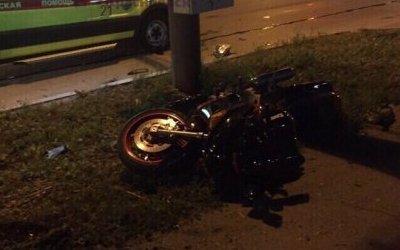 Пассажирка мотоцикла погибла в ДТП в Красноярске