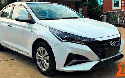 Обновлён седан Hyundai Verna