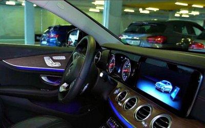 Mercedes-Benz иBosch разработали систему автоматической парковки