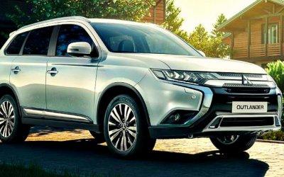 Названы российские цены нановый Mitsubishi Outlander
