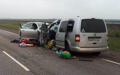 Один погиб, восемь пострадали в ДТП под Воронежем