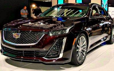 Стали известны цены нановый Cadillac CT5