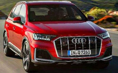 Вначале следующего года вРоссии появится обновлённый Audi Q7