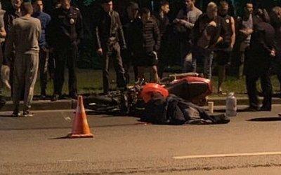 Мотоциклист погиб в ДТП в Красном Селе