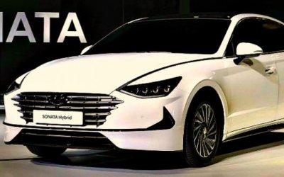 Стали известны характеристики гибридной версии Hyundai Sonata