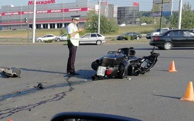 В Уфе в ДТП погиб мотоциклист