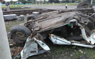 В Амурской области в ДТП на переезде погибла 16-летняя девушка