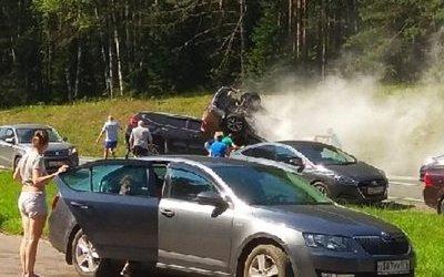 Четыре человека погибли в ДТП под Петербургом