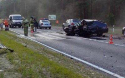 В ДТП под Брянском погиб молодой водитель