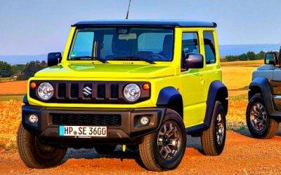 Новый Suzuki Jimny: скороли вРоссии?