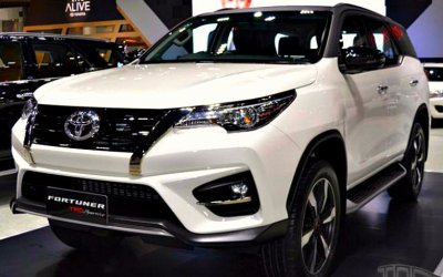 В сентябре появится «заряженная» Toyota Fortuner