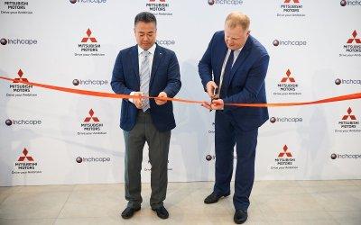 Торжественная церемония открытия дилерского центра Mitsubishi Motors компании «Inchcape»