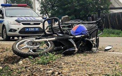 Под Иркутском мотоциклист сбил ребенка и погиб